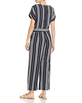 Rails - Angela Striped Wide-Leg Jumpsuit