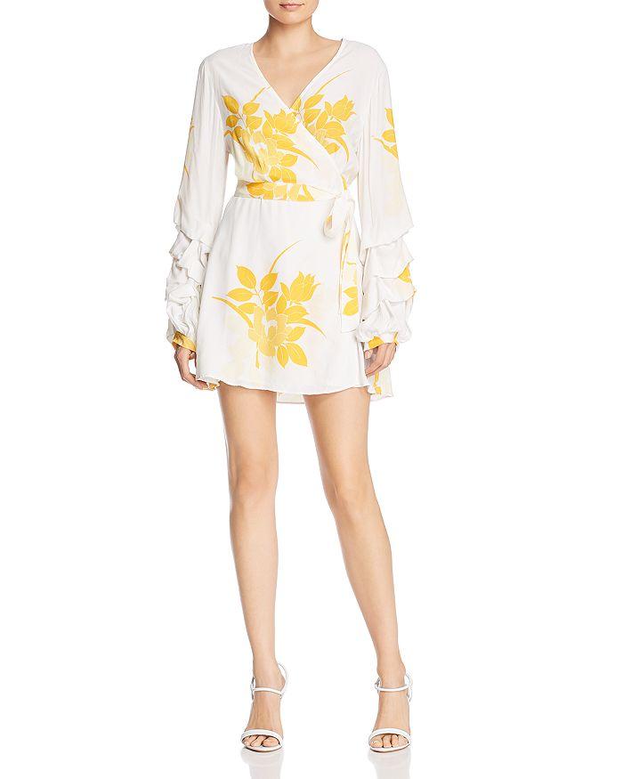 S/W/F - Dock Floral Mini Wrap Dress - 100% Exclusive