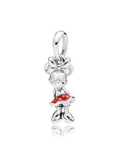 PANDORA - Sterling Silver Disney Minnie Polka Dots Charm