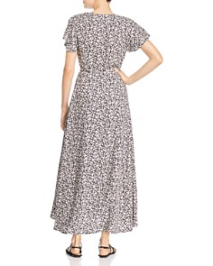 FRENCH CONNECTION - Aubi Micro-Leaf Print Maxi Dress