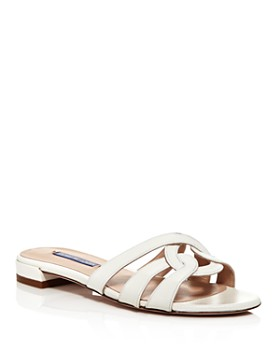 Stuart Weitzman - Women's Cami Knotted Slide Sandals