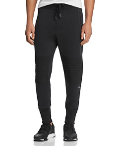 Alo Yoga - Mixed-Media Technical Moto Jogger Pants