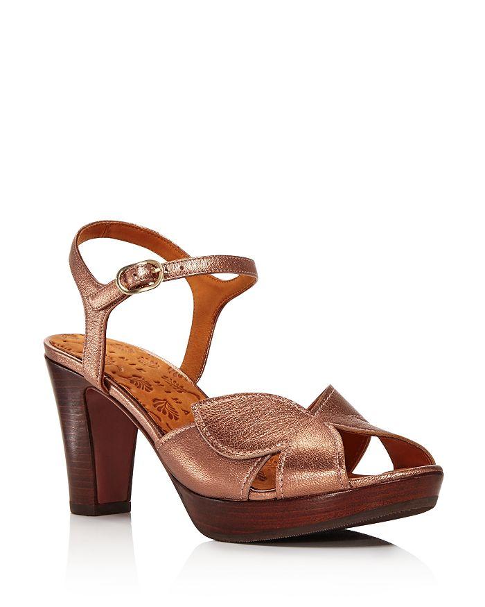 726ab4173eb Chie Mihara - Women s Posh Chunky Heel Metallic Sandals