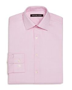 Michael Kors - Boys' Gingham Dress Shirt - Big Kid