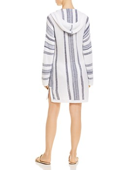 Tommy Bahama - Baja Hooded Sweater Dress Swim Cover-Up