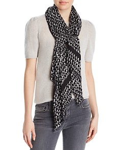 kate spade new york - Scallop Print Oblong Scarf
