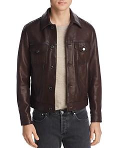 Michael Kors - Burnished Leather Jacket - 100% Exclusive