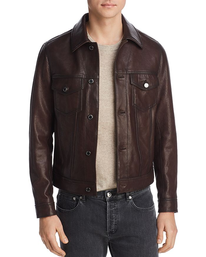 Michael Kors - Burnished Leather Jacket - 100% Exclusive