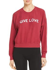 Spiritual Gangster - Malibu Give Love Sweatshirt