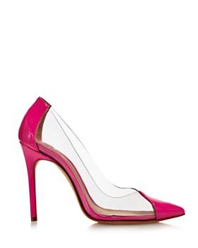 SCHUTZ - Women's Cendi Patent Leather High-Heel Pumps
