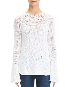 1f512132ee8 Theory - Bell-Sleeve Sweater ...