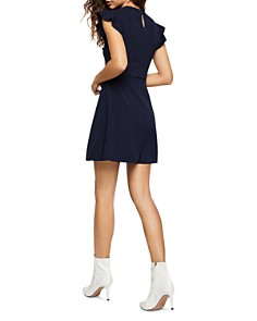 BCBGENERATION - Flutter-Sleeve Cutout Dress
