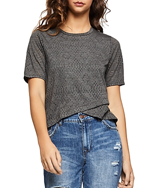 Bcbgeneration BCBGENERATION POINTELLE HIGH/LOW TEE