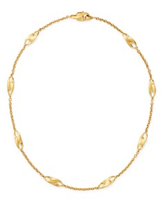"""Marco Bicego - 18K Yellow Gold Legami Short Station Necklace, 18"""" - 100% Exclusive"""