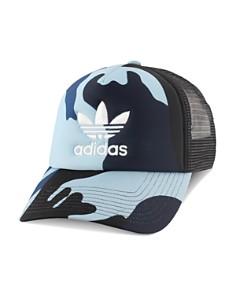 adidas Originals - Camouflage-Print Trucker Hat
