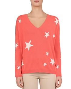 Gerard Darel - Jade Star-Pattern Cashmere Sweater
