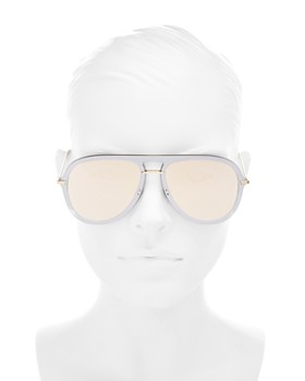 Dior - Women's Brow Bar Aviator Sunglasses, 57mm