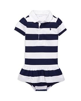 da9fb71d0bdc3 Ralph Lauren - Girls' Jersey Rugby Dress & Bloomers Set - Baby ...