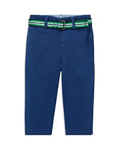 Ralph Lauren - Boys' Belted Stretch-Chino Pants - Baby
