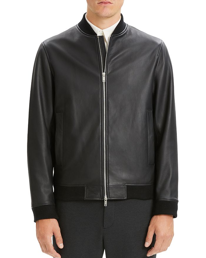 Theory - Brenton Rhodes Leather Jacket