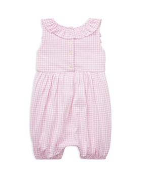 f2c293f3a94 ... Ralph Lauren - Girls  Ruffled Gingham Cotton Romper - Baby