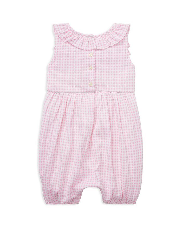 0f7eb1b44ff3b Ralph Lauren Girls  Ruffled Gingham Cotton Romper - Baby ...
