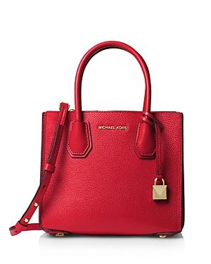 Michael Michael Kors Medium Leather Accordion Messenger Bag