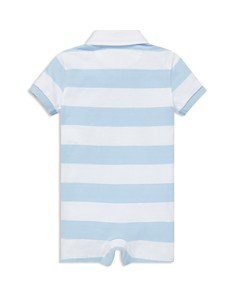 Ralph Lauren - Boys' Striped Cotton Rugby Shortall - Baby