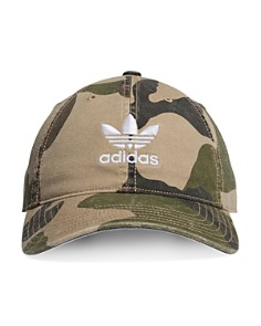 adidas Originals - Relaxed Camouflage-Print Hat