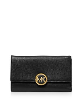 cae964791582 MICHAEL Michael Kors - Large Lillie Carry-All Leather Wallet ...