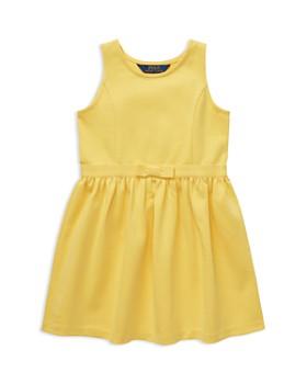 bf7bfa1c61 Ralph Lauren - Girls  Sleeveless Fit-and-Flare Dress - Little Kid ...