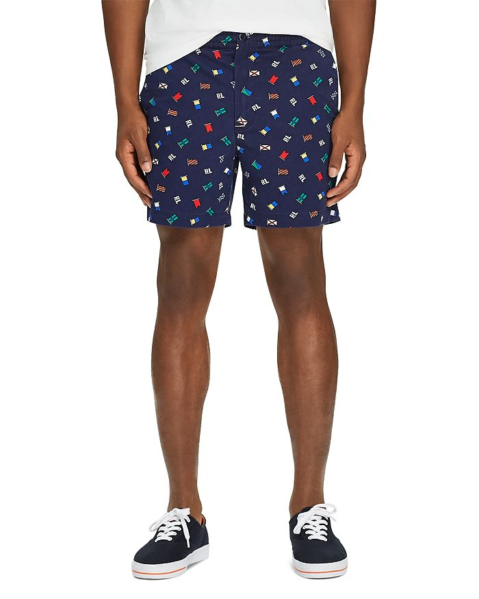 Polo Ralph Lauren - Prepster Flag-Print Stretch Classic Fit Shorts