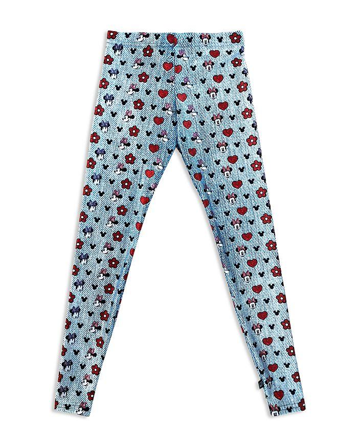Terez - Girls' Disney Minnie Mouse's Favorite Jeans Leggings - Big Kid
