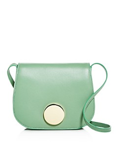 Little Liffner - Leather Mini Saddle Bag