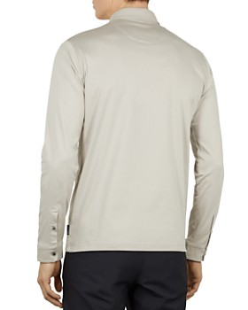 Ted Baker - Long-Sleeve Regular Fit Polo Shirt