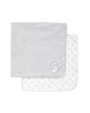Little Me Boys' Safari 2-Piece Receiving Blanket Set - Baby