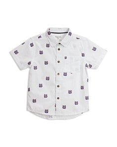 Sovereign Code - Boys' Solstice Tiger-Face Camp Shirt - Little Kid, Big Kid