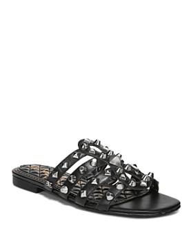 9c03bb62ec1bb8 Sam Edelman - Women s Beatris Studded Slide Sandals ...
