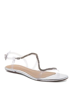 SCHUTZ - Women's Gabbyl Open Toe Embellished Sandals