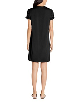 Michael Stars - Zoie Ruched-Sleeve Tee Dress