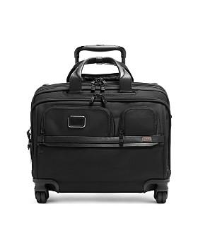 Tumi - Alpha 3 Deluxe 4-Wheel Laptop Case Brief