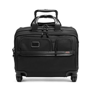 Tumi - Alpha 3 Deluxe 4-Wheel Laptop Case Brief
