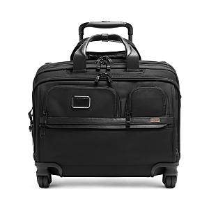 Tumi Alpha 3 Deluxe 4-Wheel Laptop Case Brief-Home