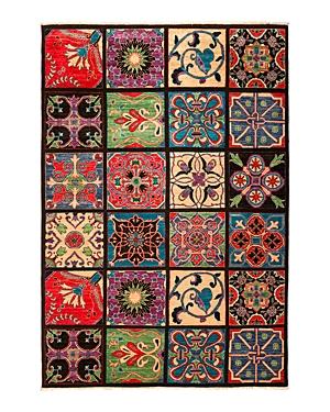 Solo Rugs Andee Suzani Area Rug, 6'1 x 9'1