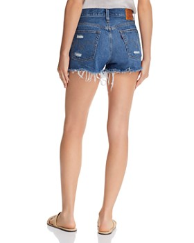 Levi's - 501 Cutoff Denim Shorts in Mid View