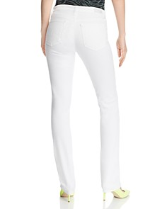 AG - Harper Essential Straight Jeans in White