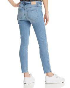 PAIGE - Verdugo Ankle Skinny Jeans in Floretta