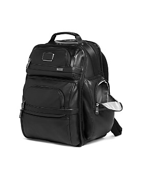 Tumi - Alpha 3 Leather Brief Pack