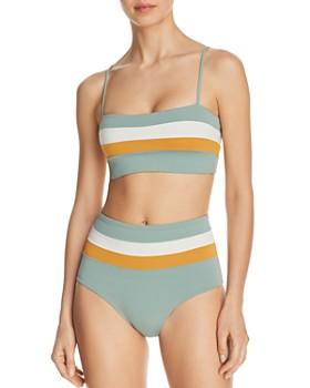 03e93fd493c3 L Space - Rebel Stripe Bikini Top   Portia Stripe Bikini Bottom ...