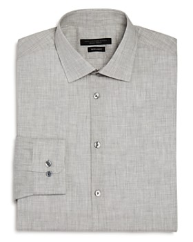John Varvatos Star USA - Mélange Regular Fit Dress Shirt